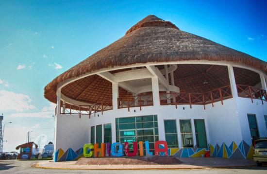 Chiquila port