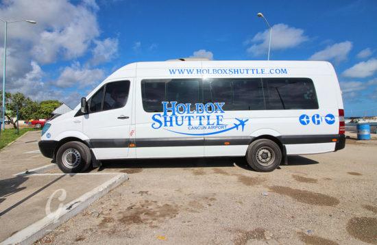 Holbox Shared Shuttle to Playa del Carmen